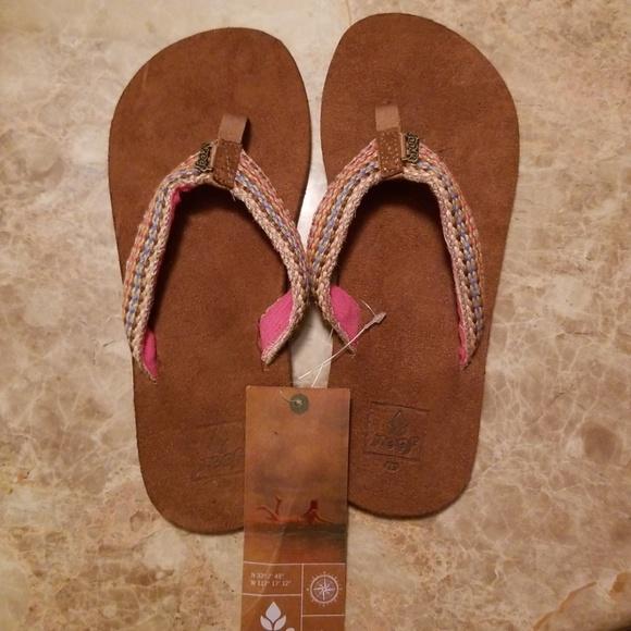 47bff0dcf7e7 Reef Little Gypsylove sandals sz 4 5